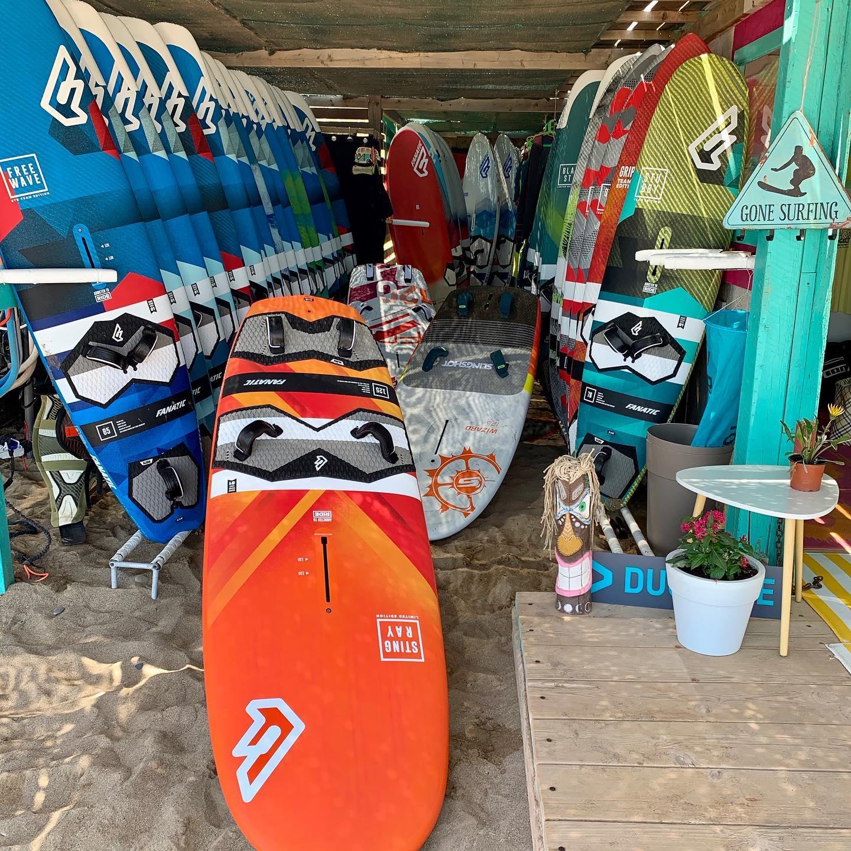 Windsurfing Crete, Kouremenos beach, Gone Surfing Crete, Windsurf Center Crete